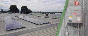 Crystal Doors Commercial Installation Solar Link Australia