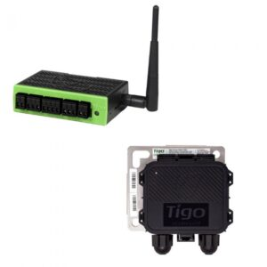 Tigo Cloud Connect Advanced with TAP gateway Indoor Unit Din Rail w/ Power Supply