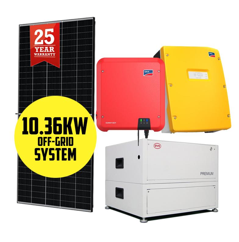 10.36kW Off-Grid Solar System